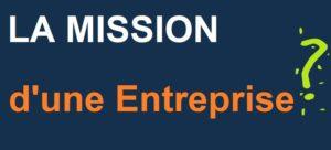 mission d'entreprise